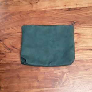 Free people cluck/pouch turquoise